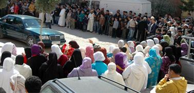 جماعة العدل والاحسان بزايو تتضامن مع الشعب الليبي