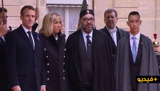 شاهدوا.. الملك محمد السادس يتوسط زعماء العالم في احتفال فرنسا بمئوية الحرب العالمية الأولى