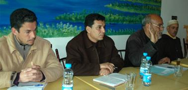 الجمعية المغربية لحقوق الانسان فرع زايو تشارك هموم ساكنة حاسي بركان في لقاء تواصلي