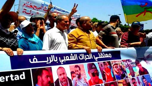 """عائلات معتقلي """"حراك الريف"""" تتهم إدارة سجن عكاشة ورأس الماء بالانتقام وحرمان المعتقلين من حقوقهم"""