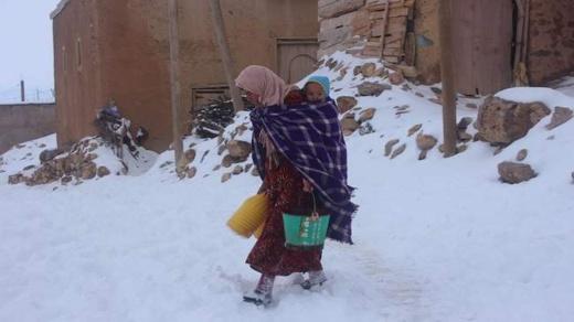 """وزارة الصحة تطلق عملية """"رعاية""""  لفائدة ساكنة المناطق المتضررة بفعل موجات البرد"""