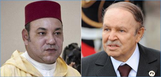 بوتفليقة يبعث برقية  للملك محمد السادس.. و يؤكد عزمه على توطيد علاقات الأخوة بين الشعبين الشقيقين