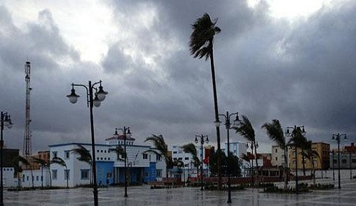 أمطار رعدية ورياح قوية غدا الثلاثاء بأقاليم الريف الناظور الدريوش والحسيمة