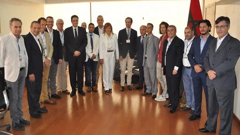 بعثة اقتصادية بلجيكية من مستوى عال تزور المغرب للنهوض بالعلاقات الاقتصادية بين البلدين.
