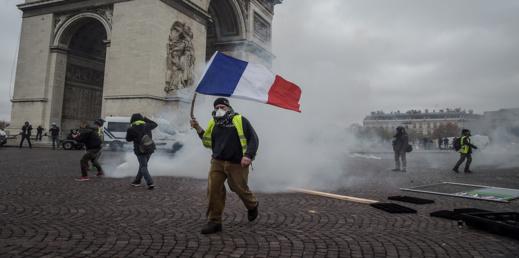 السلطات الفرنسية تعتقل أزيد من 100 مشارك في احتجاجات البذلة الصفراء