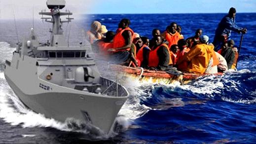 """مآسي الهجرة السرية تتواصل.. البحرية الملكية تنقذ 47 """"حراكا"""" ضمنهم نساء وأطفال قرب الحسيمة"""