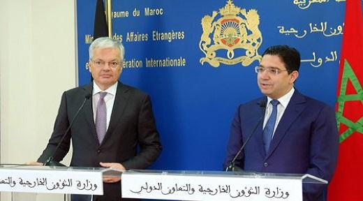 المغرب يؤكد رغبته في تعزيز علاقاته الاقتصادية ببلجيكا