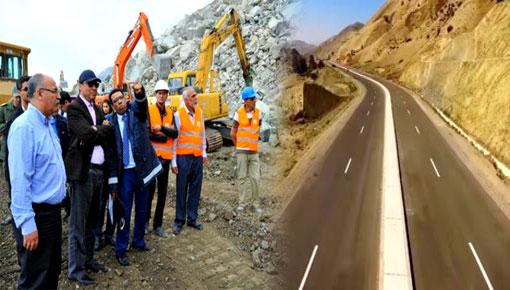 فضيحة.. مشروع الطريق السريع تازة الحسيمة كلف 400 مليار وقدم للملك دون دراسة تقنية