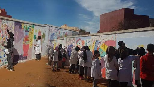 مدرسة ابن رشد بدار الكبداني تحتفل بالأسبوع الوطني للتعاون المدرسي