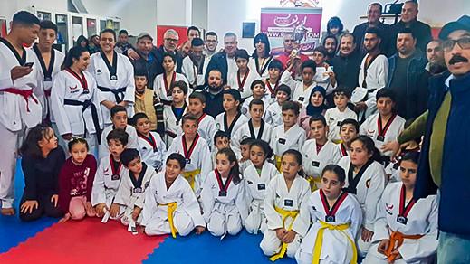 جمعية أنوار فرخانة للتايكواندو تقيم حفلا تكريميا لأبطالها