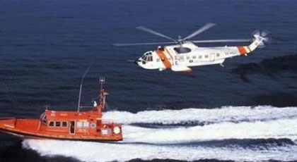 سفن الإنقاذ البحري الإسباني تبحث عن قارب مطاطي إنطلق من شاطئ بويفار بالناظور على متنه مرشحين للهجرة