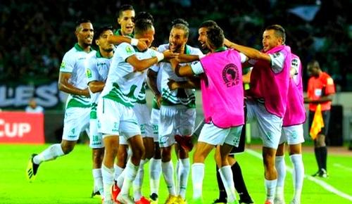 """الرجاء يخطف الكأس الإفريقية من قلب نادي """"فيتا كلوب"""" الكونغولي بعقر داره"""