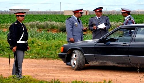 الدريوش.. الدرك الملكي يحجز سيارة تحمل صفائح مزورة بعد مطاردة هوليودية على طريق بن الطيب