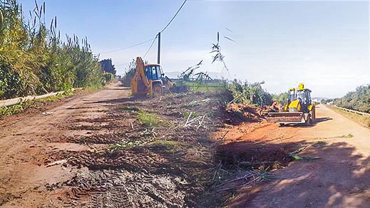 وزارة الفلاحة تشرع في إصلاح طرق قروية لفك العزلة عن مناطق نائية بجماعة بوعرك