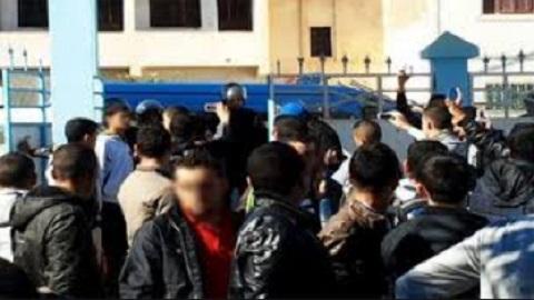 أمن زايو يُخضع أربعة تلاميذ للتحقيق على خلفية إتهامهم برشق سيارتين بالحجارة