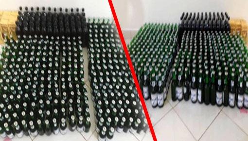 الدرك الملكي ببن الطيب يضع حدا لنشاط أكبر مروج للخمور وبحوزته كمية مهمة من المشروبات الكحولية