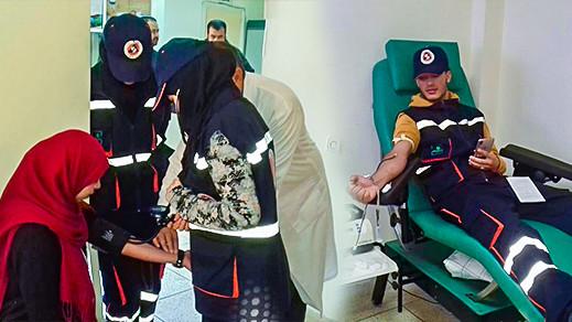 المنظمة الوطنية للإسعاف تنظم حملة للتبرع بالدم