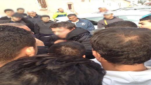 """عناصر الشرطة القضائية تلقي القبض على """"بليتو"""" المتخصص في اعتراض و سرقة النساء بالناظور"""