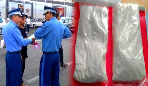 جمارك باب فرخانة تحجز كمية من الكوكايين بحوزة مواطن إسباني كان ينوي الدخول لمدينة الناظور