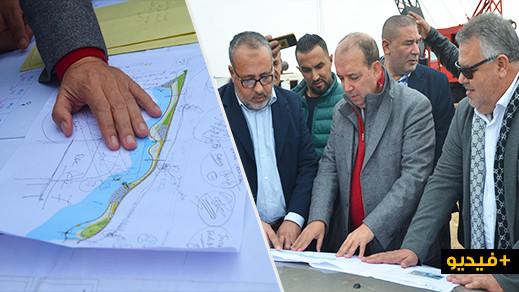 """زرُّو يكشف موعد انطلاق أشغال إنشاء """"الكورنيش وملاعب القرب وقصر البلدية"""" ببني أنصار"""