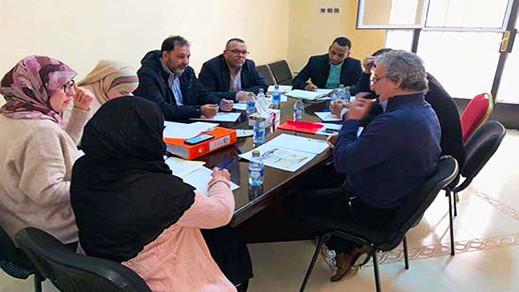 """أعضاء مكتب """"الرحمة للتنمية الاجتماعية"""" و """"الإغاثة الإسلامية"""" يلتئمون لتسطير برنامج السنة المقبلة"""