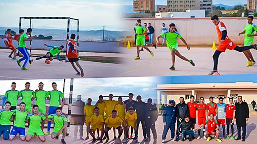 الجمعية الرياضية لثانوية الكندي بدار الكبداني تنظم دوري في كرة القدم المصغرة
