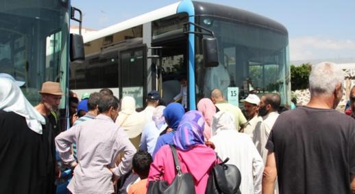 انتهى زمن الإشهار.. الحافلات الجديدة بالناظور تدخل مرحلة العبث