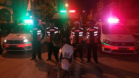 تزامنا مع رأس السنة.. عناصر أمن أزغنغان تقود أكبر حملة أمنية للحد من الإجرام والمخدرات