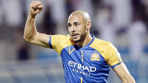 """الدولي الريفي """"نور الدين أمرابط"""" ينال جائزة أفضل لاعب أجنبي في الدوري السعودي"""