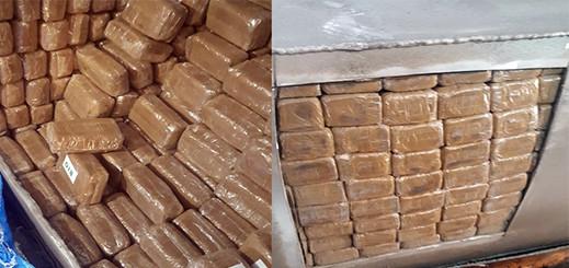 الأمن يحجز أكثر من 13 طنا من مخدر الحشيش بالميناء المتوسطي
