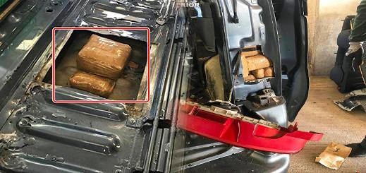 بالصور.. إعتقال بلجيكي حاول تهريب كمية مهمة من المخدرات داخل تجاويف سيارته بميناء مليلية