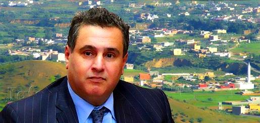 وزير الفلاحة والصيد البحري والتنمية القروية عزيز أخنوش في زيارة للدريوش لهذا السبب
