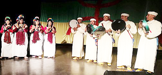 الجالية المغربية في بلجيكا تحتفل برأس السنة الامازيغية الجديدة