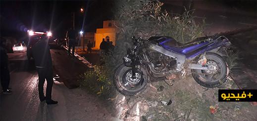 إصابة شاب بجروح بليغة في حادث سير خطيرة بجماعة إعزانن