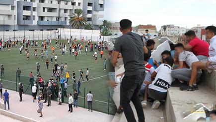 الهلال الناظوري يراسل الجهات المعنية لتفادي أعمال الشغب في مباراته أمام نهضة سلوان