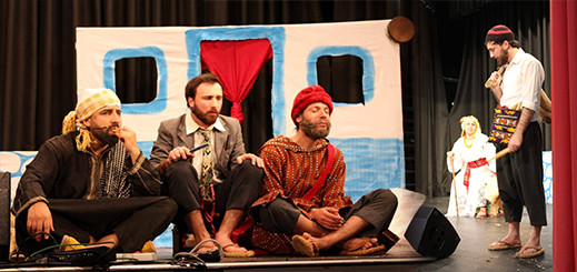 """فرقة """"مارتشيكا"""" للمسرح والسينما تحط الرحال بفرانكفورت وتبدع في مسرحية رماس"""