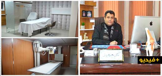 """الدكتور """"سعيد هرواش"""" يفتتح عيادته الجديدة المتخصصة في جراحة العظام والمفاصل وسط الناظور"""