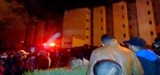 انفجار وحريق بالحي الجامعي لوجدة.. ونقل طالبات بسبب الاختناق للمستشفى