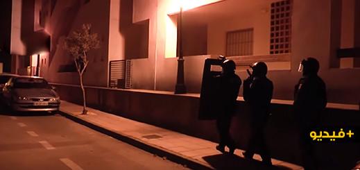 شاهدوا.. الشرطة الاسبانية تلقي القبض على مغربي يشتبه في انتمائه لداعش