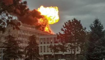 بالفيديو.. إنفجار ضخم يهز جامعة ليون بفرنسا