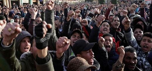 محكمة وجدة توزع 60 سنة سجنا على معتقلي حراك الفحم بجرادة