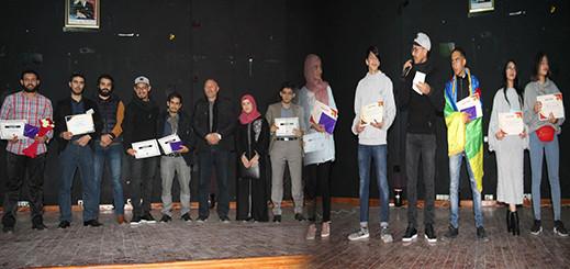نادي الإبداع والثقافة التابع لثانوية الناظور الجديد ينظم امسية ثقافية