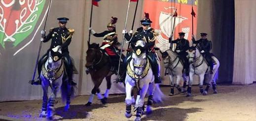 """شرطة الخيالة المغربية تشارك بمعرض """"الحصان الشغف"""" بأفينيون الفرنسية"""