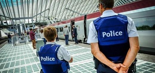 بلجيكا..إعتقال مهاجرين غير شرعيين في حملة تفتيشية للشرطة في محطة القطار