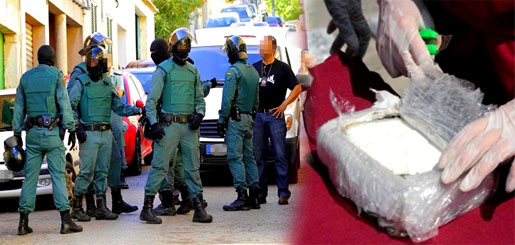 """إسبانية.. تفكيك مختبر سري لتصنيع """"الكوكايين"""" وإلقاء القبض على 11 من المتورطين"""