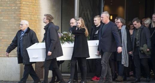 النرويج تشيع جنازة مارين احدى ضحيتي جريمة القتل الارهابية في إمليل