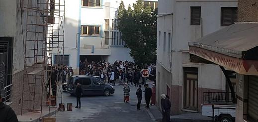 الهزات الأرضية تثير الخوف وسط الساكنة وتلاميذ المدراس يخرجون الى الشارع هلعا