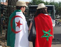 مدينة مراكش تعيش على ايقاع ساخن إستعدادا لمباراة المغرب والجزائر