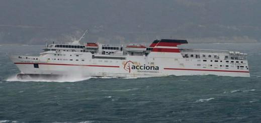 العواصف تتسبب في إلغاء رحلات بحرية بين المغرب وإسبانيا
