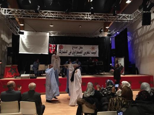 الدنمارك.. الجالية المغربية الصحراوية تحتفل بميلاد جمعية البيت المغربي الصحراوي